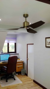 Home office ceiling fan